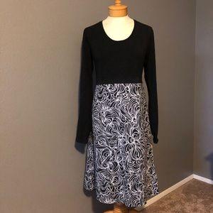 Prana Long Sleeve Empire Waist Dress